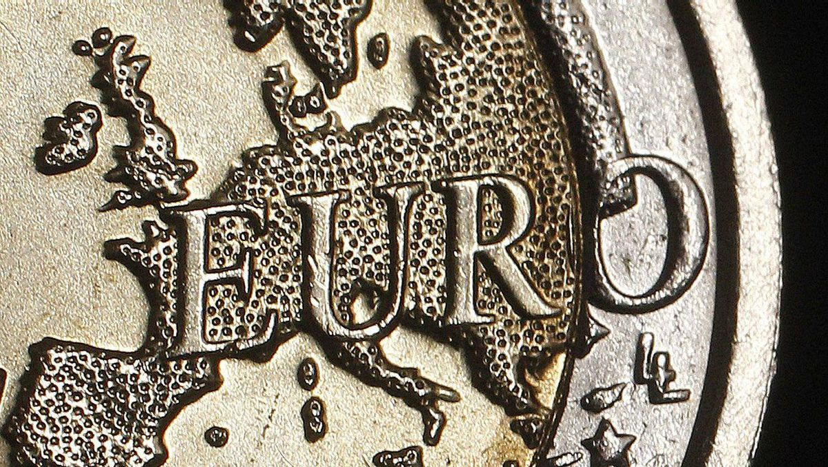 The map of Europe is featured on the face of a two Euro coin seen in this photo illustration taken in Rome, December 3, 2011.