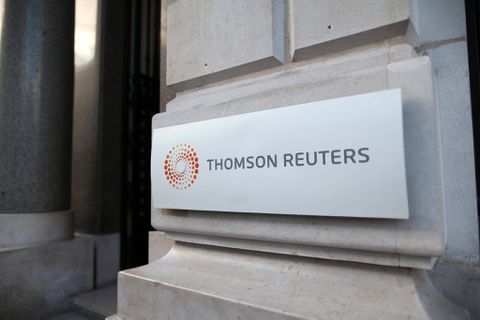 Thomson Reuters reports third-quarter profit up from year ago