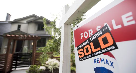 Canadian home prices rise 0.2 per cent in December