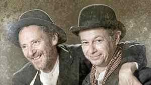 Simon Webb and Anthony F. Ingram in the Blackbird production of Waiting for Godot.