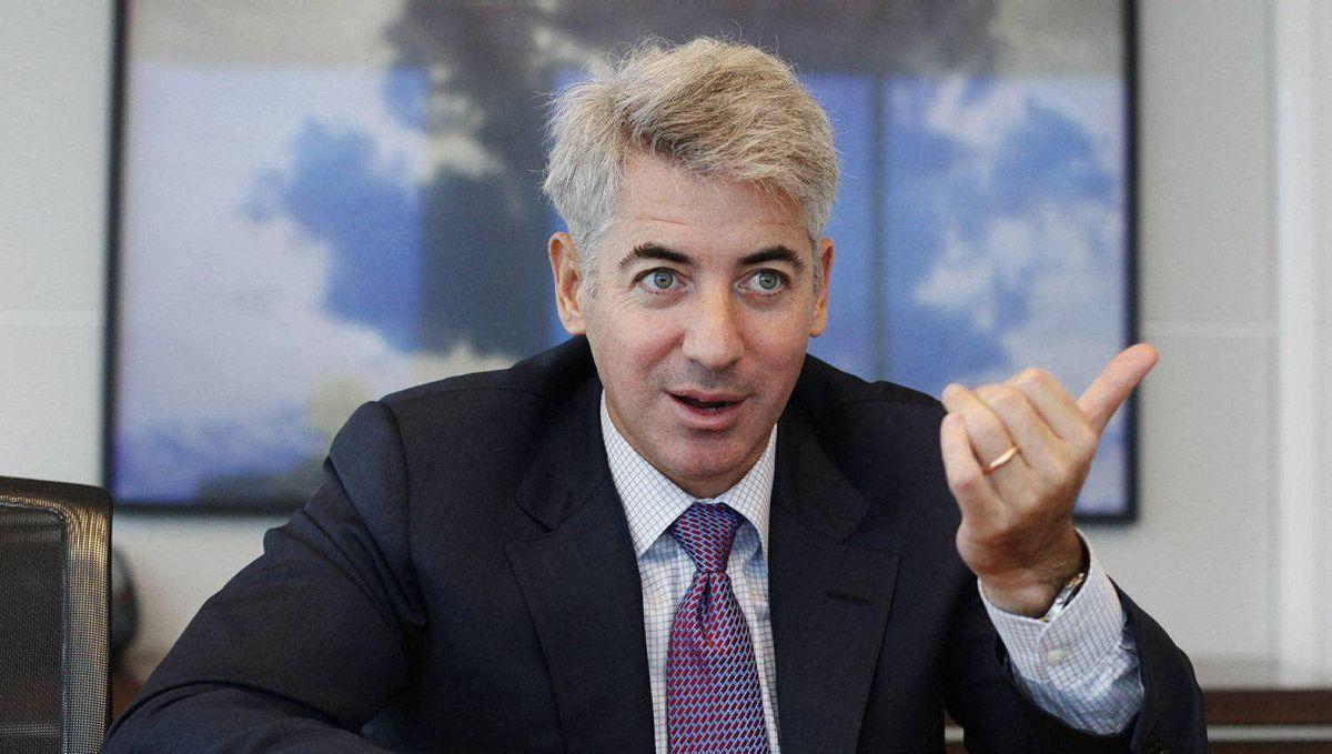 William Ackman of Pershing Square Capital Management.