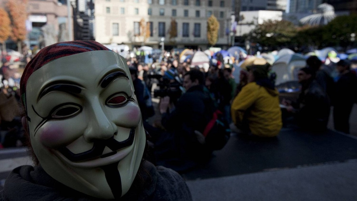 Occupy Vancouver protesters are seen in their tent city outside the Vancouver Art Gallery in downtown Vancouver, Monday, Oct. 17, 2011.