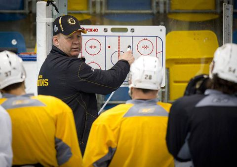 Coach Julien juggles Bruins' lineup ahead of Game 2 clash with Leafs