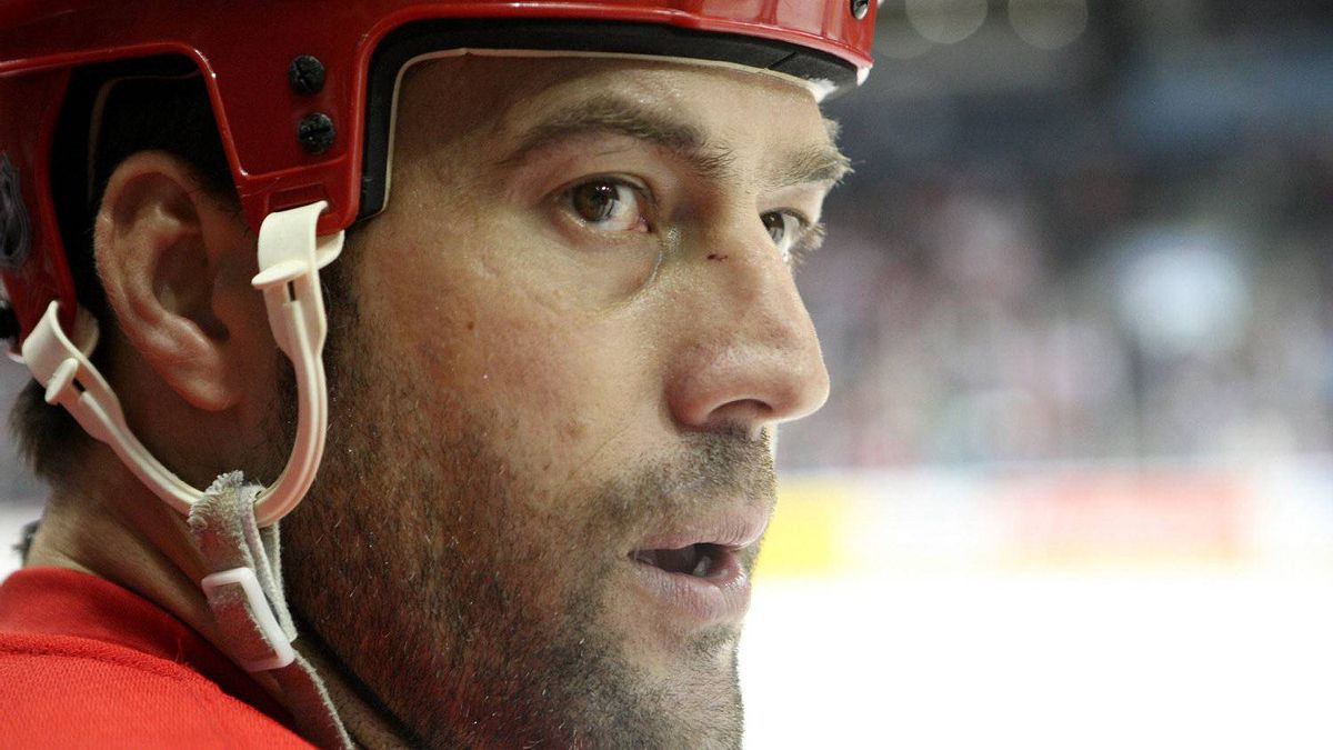 Detroit Red Wing Todd Bertuzzi, Sept. 22, 2011.