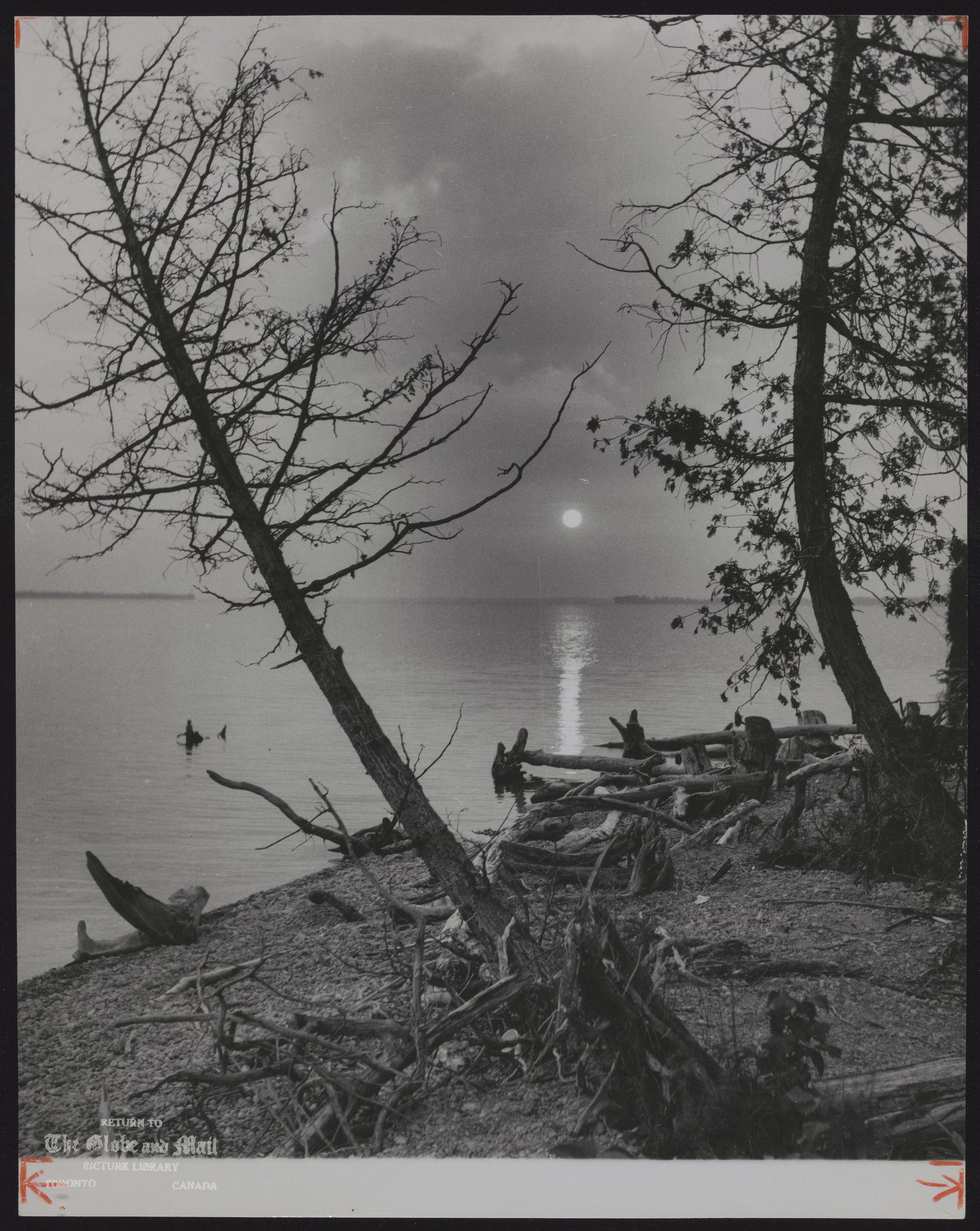 LAKE SIMCOE Autumn Sunrise -- Sibbald 's Point