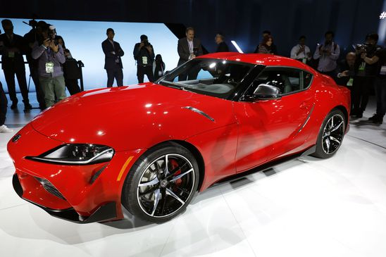 After relentless teasing, Toyota unveils the reborn Supra sports car
