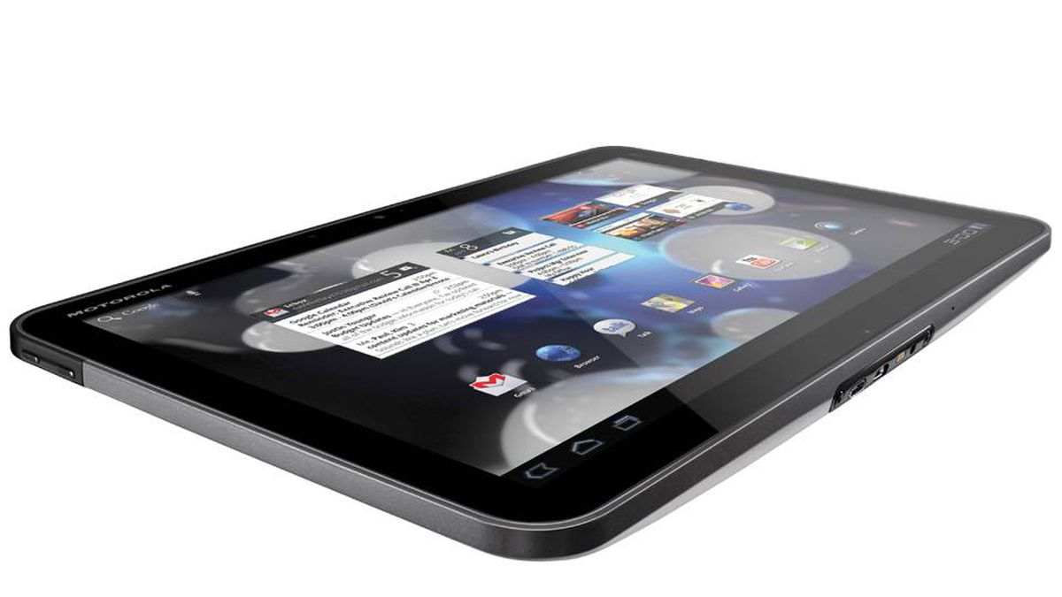 Motorola Xoom Motorola's 10.1-inch tablet is an Android-lover's dream, as there's no meddling that brings a lot of variance in the platform. The Xoom's Honeycomb interface is as close to stock as there can be, so users won't be getting any surprises.