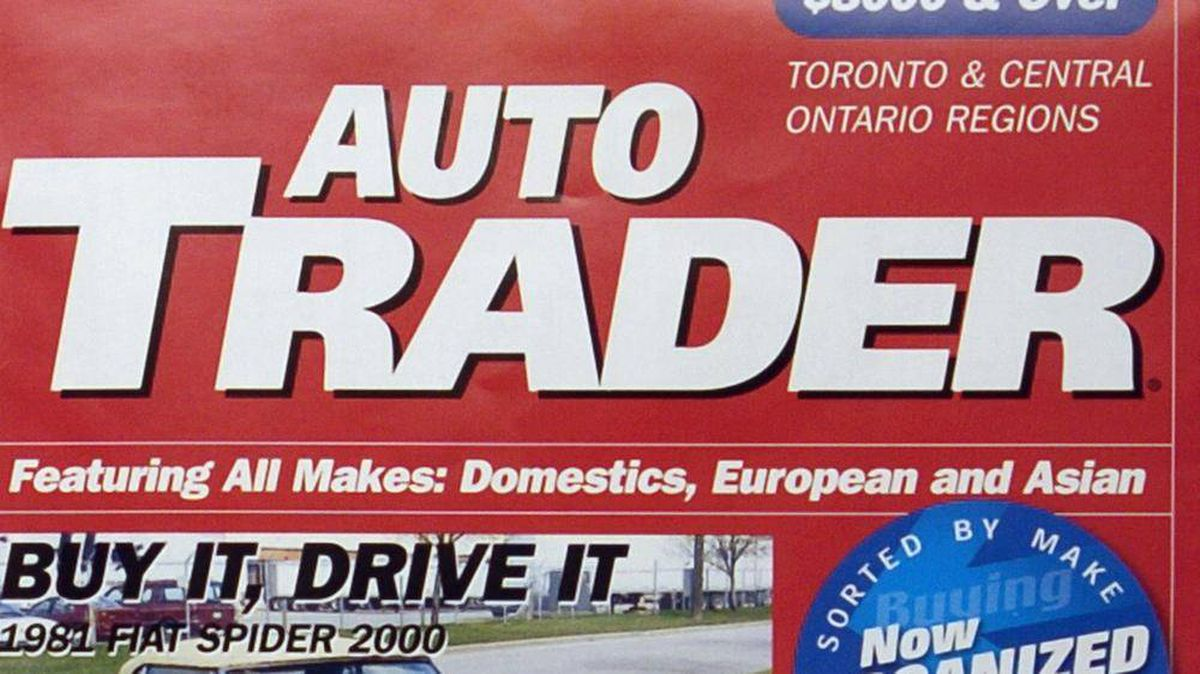 Auto Trader magazine victim of digital shift - The Globe and Mail