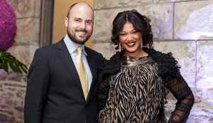 TORONTO -- May 13, 2012: Meesha Brueggergosman (right) and her husband Markus Brueggergosman during the Royal Conservatory of Music 125th anniversary gala where she was appointed an honorary fellow along with Fiest. Photo by Della Rollins for the Globe and Mail