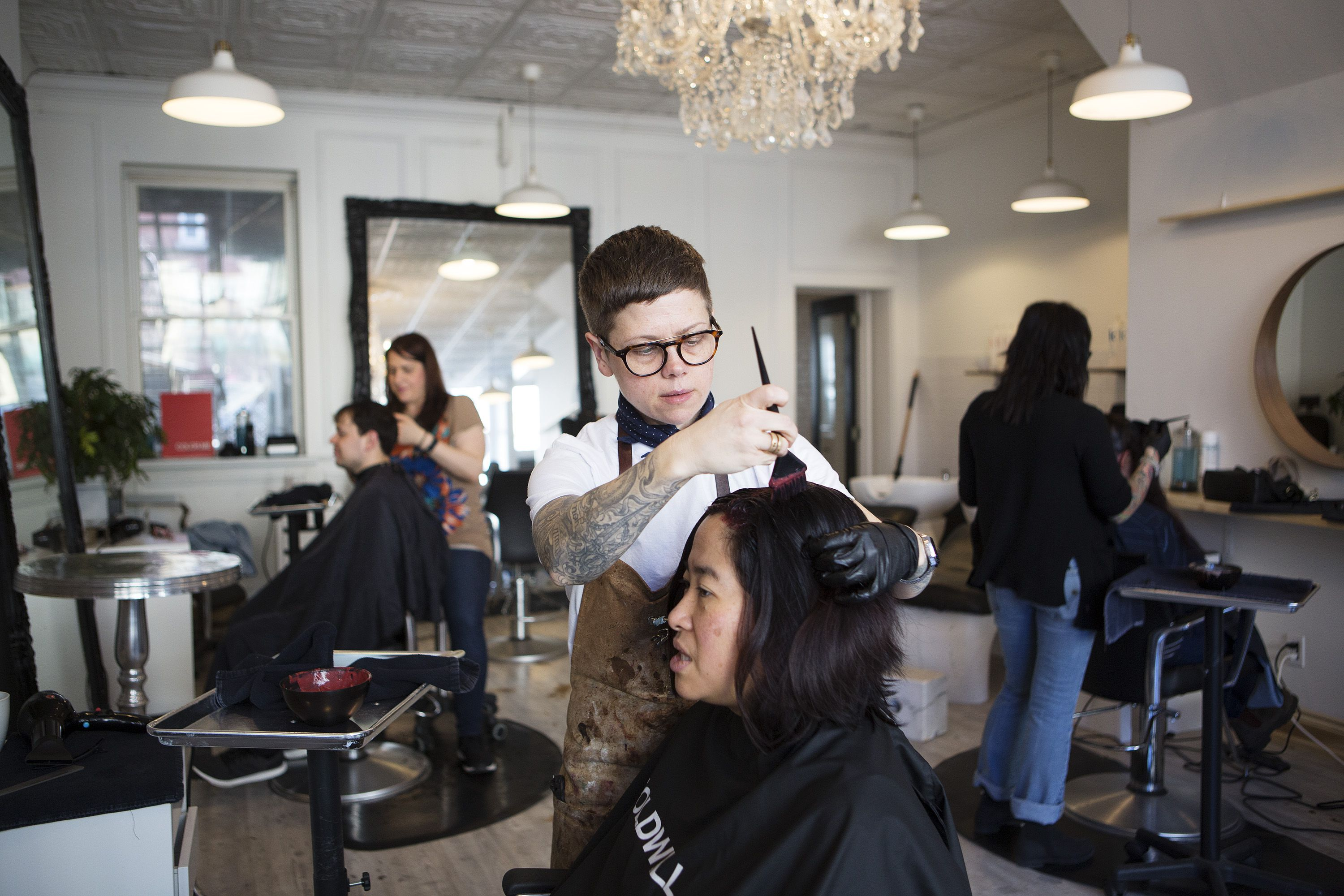 How A Toronto Hairstylist Is Making Salons Around The Globe More