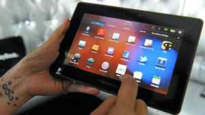 RIM, the maker of the BlackBerry PlayBook, may be forced to fight Lodsys in court, as Apple and Google are already doing.