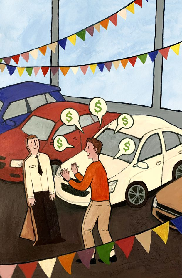 Haggling over the price of a new car could soon be a lost art, but maybe that's okay