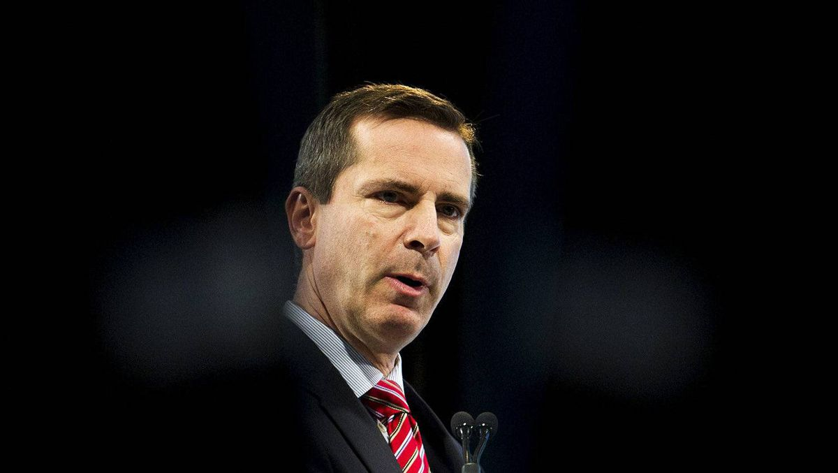 Ontario Premier Dalton McGuinty speaks at the ROMA/OGRA Conference in Toronto, on Monday, Feb. 27, 2012.