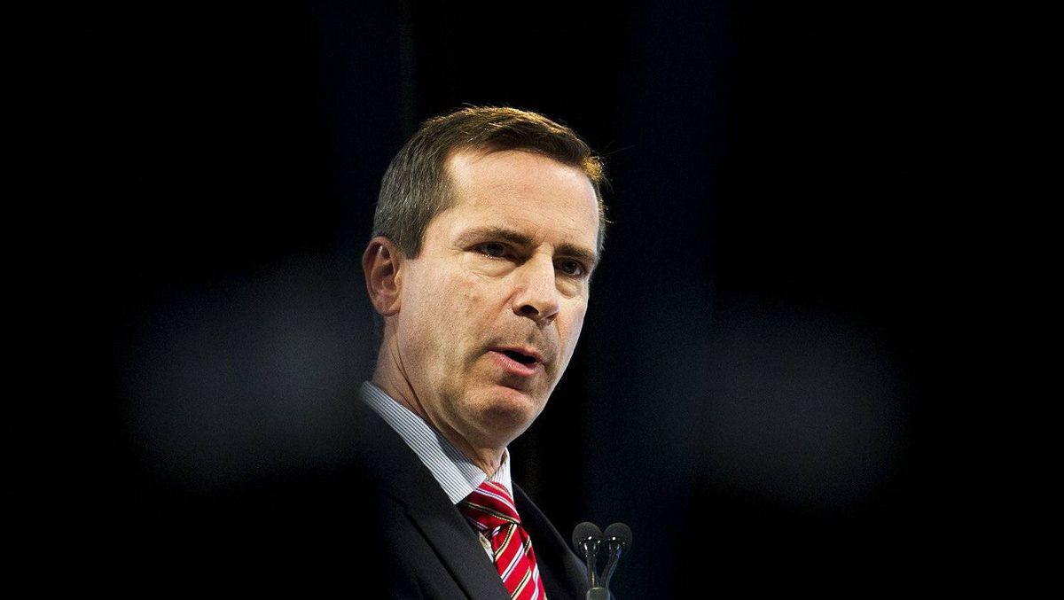 Ontario Premier Dalton McGuinty speaks at the ROMA/OGRA Conference in Toronto, on Monday, Feb. 27, 2012.
