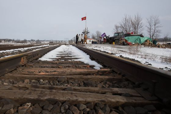 Globe editorial: A protest is a constitutionally protected right. A railway blockade isn't