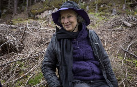 Margaret Atwood submits manuscript to Future Library; won't be read for 100 years