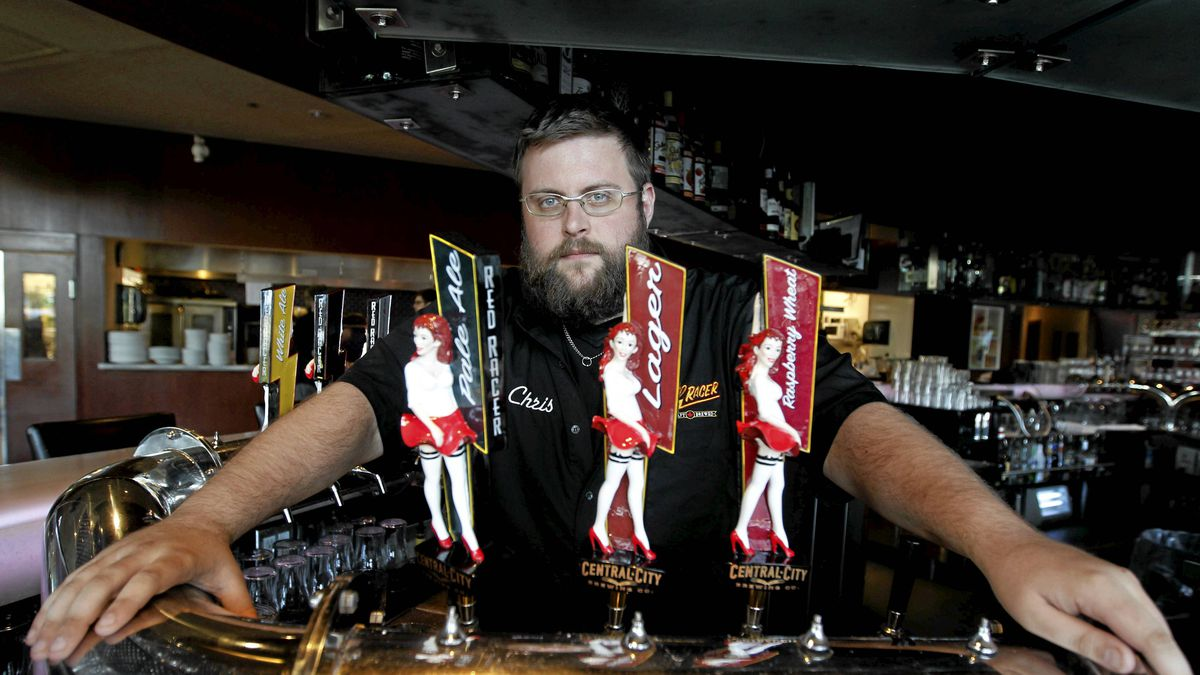 Marketing Manager Chris Bjerrisgaard at Central City Brewing