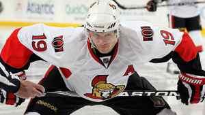Jason Spezza of the Ottawa Senators. (Photo by Jim McIsaac/Getty Images)