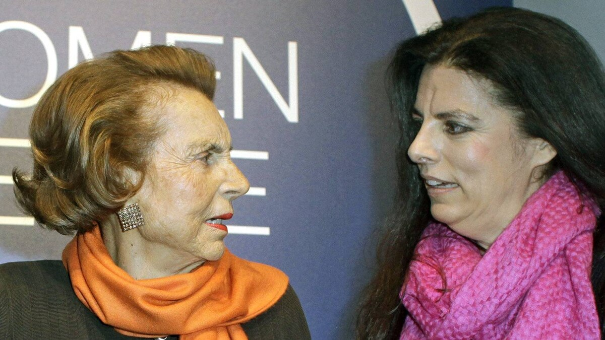 A French judge has ordered L'Oreal heiress Liliane Bettencourt, left, and her fortune to be placed under the legal protection of her daughter Francoise Meyers-Bettencourt, right, and her grandsons.