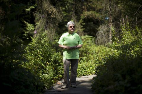 Eliza Olson: protecting Burns Bog from developers