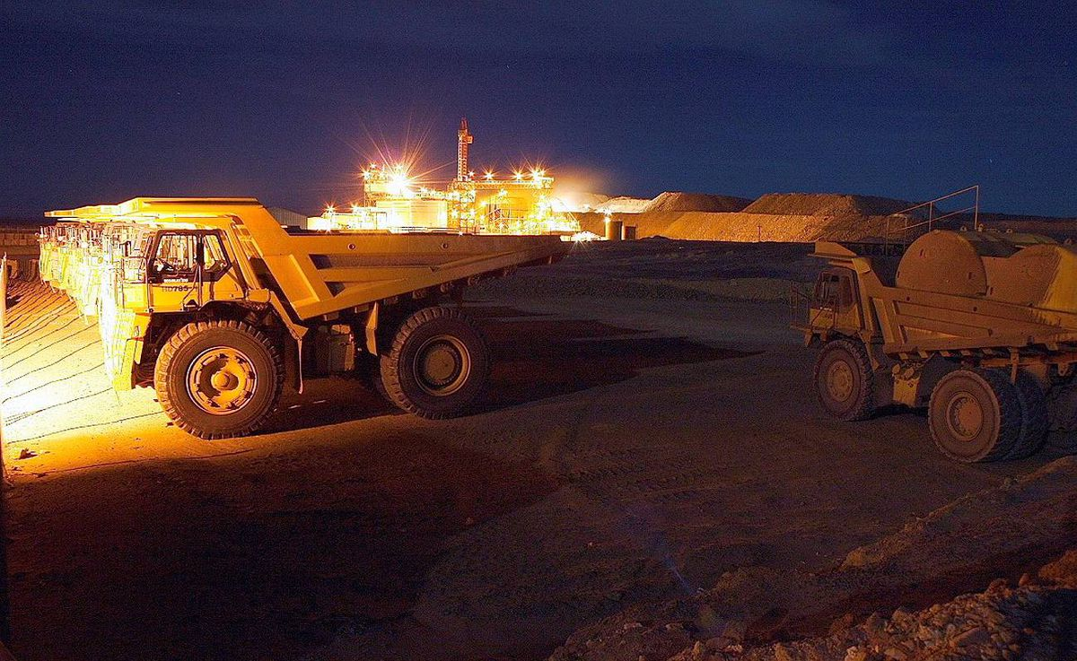 No. 2. Richard Clark, who leads Red Back Mining Inc., realized a 256-per-cent increase in his compensation last year. He earned $6.3-million in 2009, up from $1.8-million the previous year. Shown here is Red Back's Tasiast Gold Mine in Mauritania.