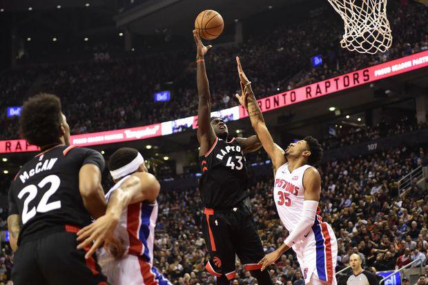 Raptors finally get 1st win against ex-coach Dwane Casey's Pistons