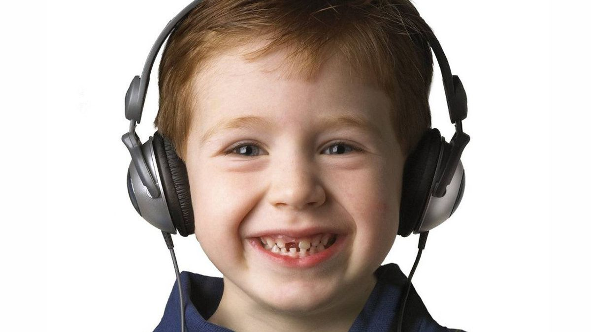 Kidz Gear headphones These foldable headphones have the same quality components that go into adult cans, but are light and designed to fit young children. Most important, though, they have a built-in sound limiter so you can protect your child's ears while letting them have control over the volume. ($19.99; amazon.ca)