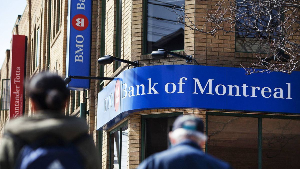 The Bank of Montreal at Roxton and Dundas in Toronto.