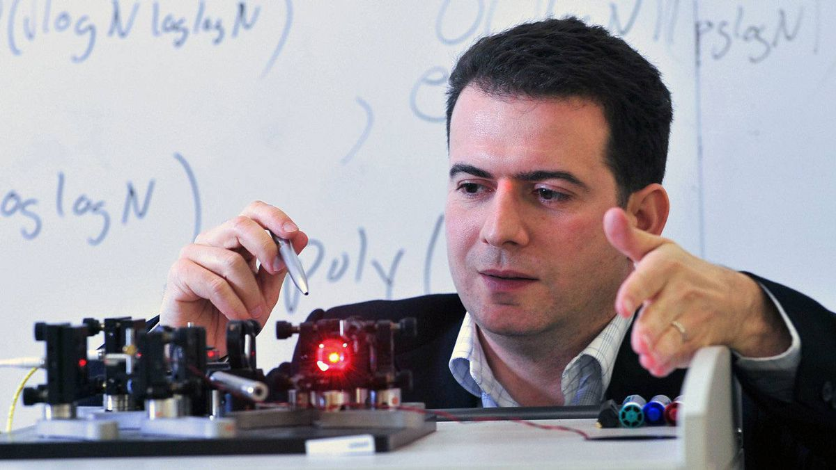 MICHELE MOSCA, Deputy director, co-founder, Institute for Quantum Computing, University of Waterloo.