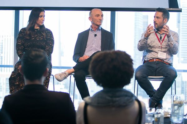 Globe and Mail's Growth Camp event brought together business leaders from across the country. Report on Business Magazine's Dawn Calleja speaks with Carinne Chambers-Saini from Divacup, John Levy from The Score and Dominique Brown from Chocolats favoris