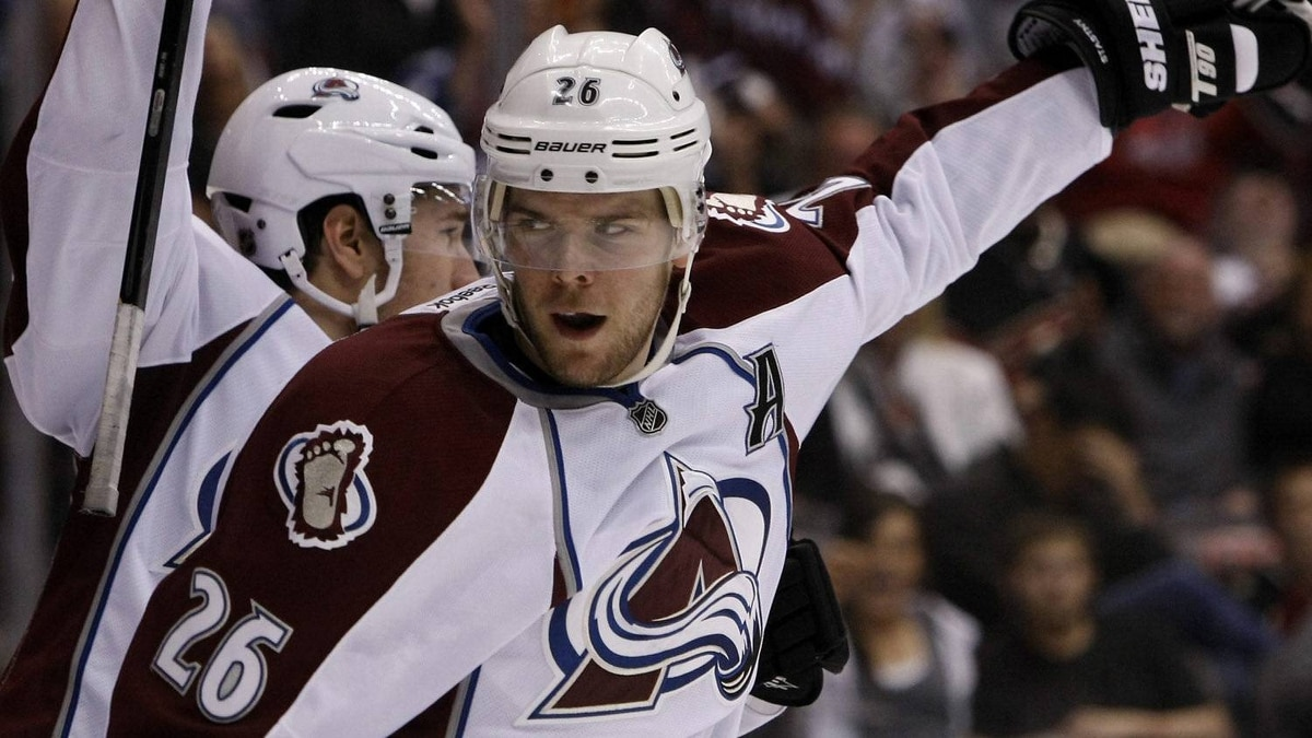 The Colorado Avalanche centre Paul Stastny face the Calgary Flames in a key Western Conference regular season clash on Friday. (AP Photo/Rick Scuteri)