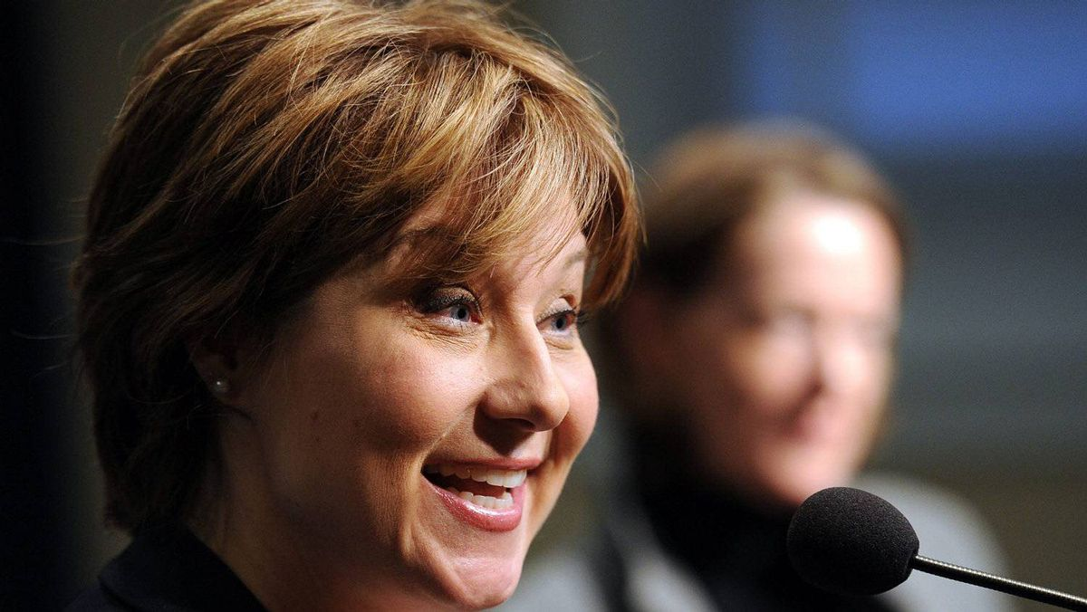 Premier Christy Clark. The Vancouver Island Health Authority is cancelling the contract to hire Stewart Muir as acting vice-president of communications and external relations.