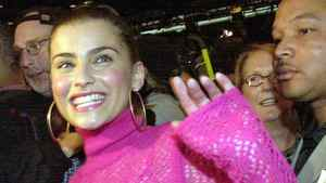 Songwriter and singer Nelly Furtado in Los Angeles.