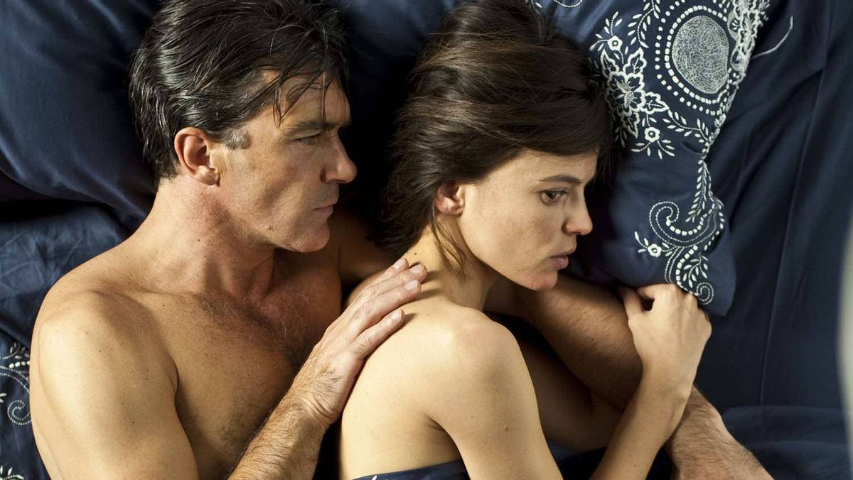 """Antonio Banderas and Elena Anaya in a scene from """"The Skin I Live In"""""""