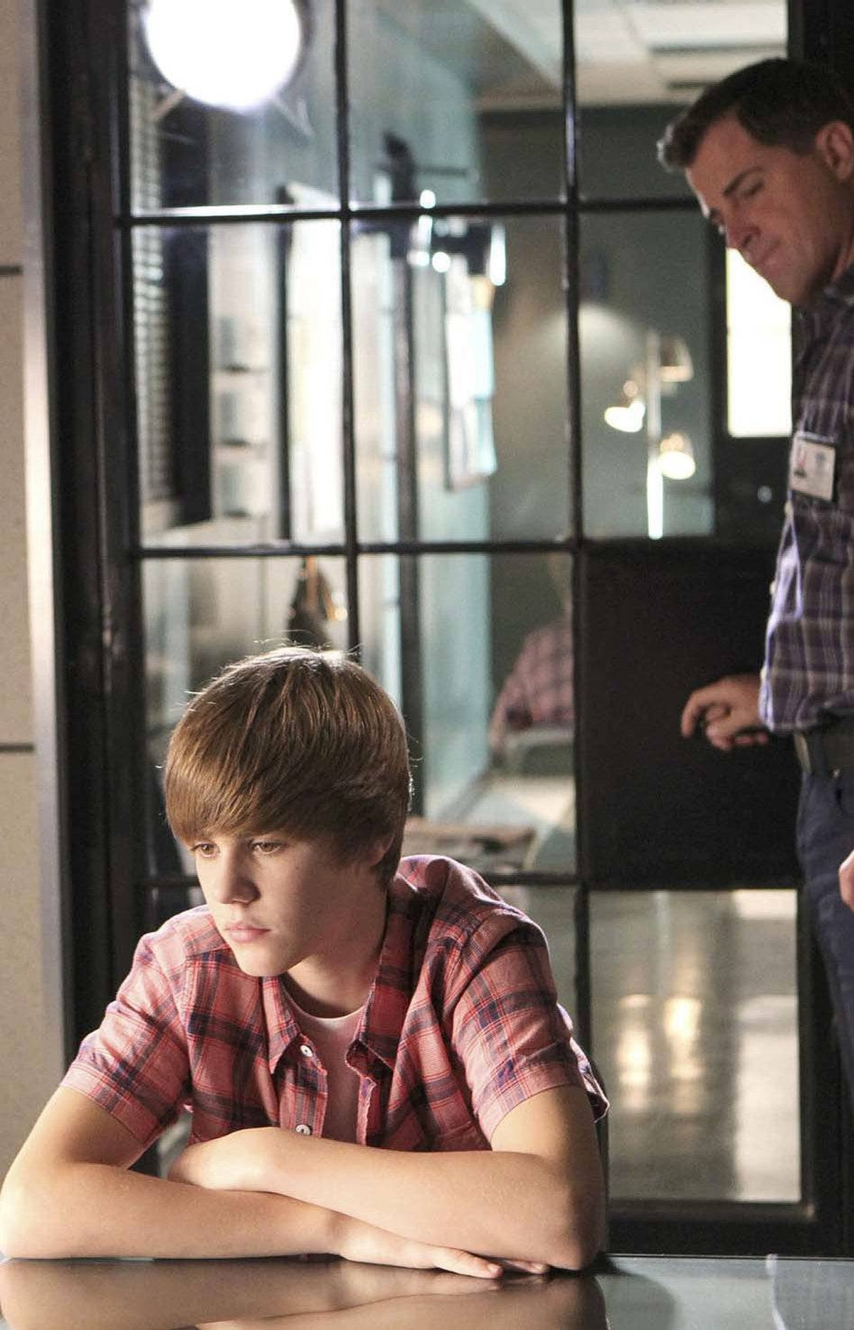 "On Feb. 17, Bieber made his acting debut playing a brooding teenager named Jason McCann in an episode of ""CSI: Crime Scene Investigation"" entitled ""Targets of Obsession."""