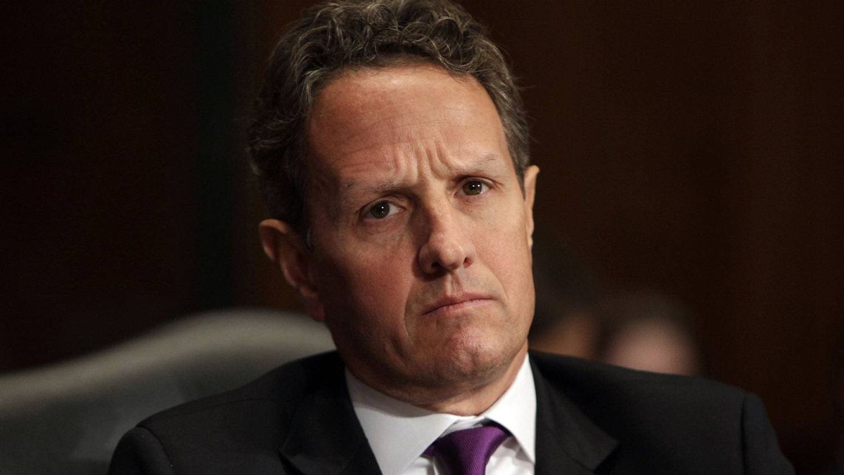 U.S. Treasury Secretary Timothy Geithner embraced IMF Managing Director Christine Lagarde's pledge drive on Wednesday, predicting she would receive substantial contributions this weekend.