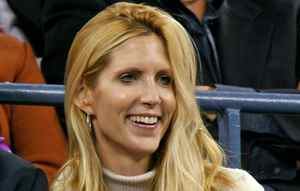 Conservative pundit Ann Coulter watches the U.S. Open tennis tournament in New York on Sept. 4, 2006.