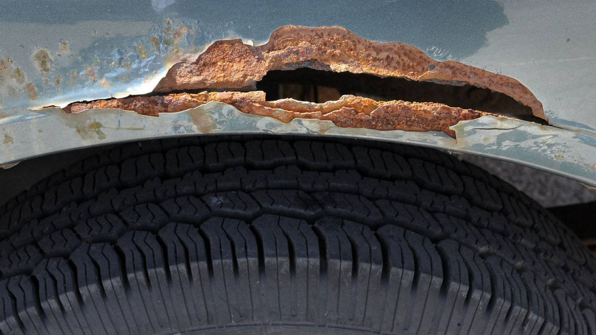 Corrosion, oxidation and rust all mean the same thing — water, salt and pollutants are dissolving your vehicle.