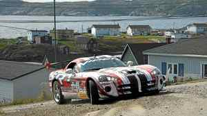SRT Viper ACR driven by team of Ralph Gilles and Jen Horsey.__Credit: Jen Horsey