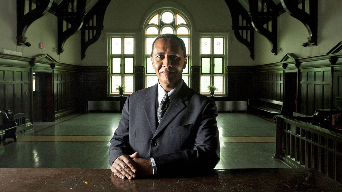 Bill Sundhu a barrister and solicitor in Kamloops, B.C. at the Old Court House on Friday March 13, 2012.
