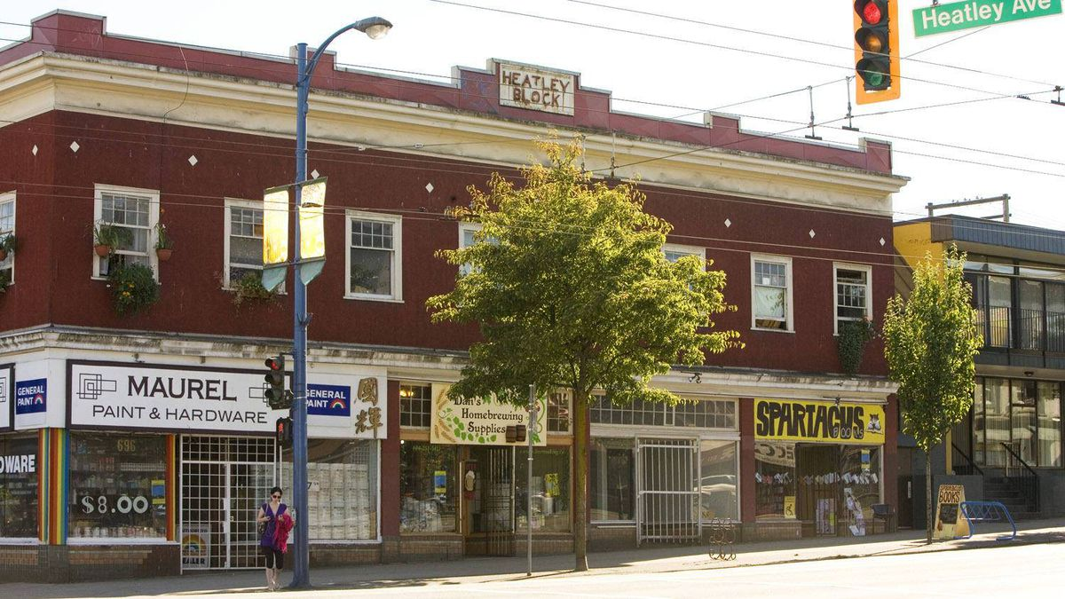 The Heatley Block in the Strathcona neighbourhood,Vancouver. August 5, 2008.