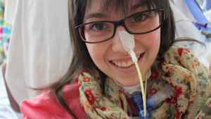Hélène Campbell, a double-lung transplant recipient and online organ donation crusader in a photo from April 18, 2012.