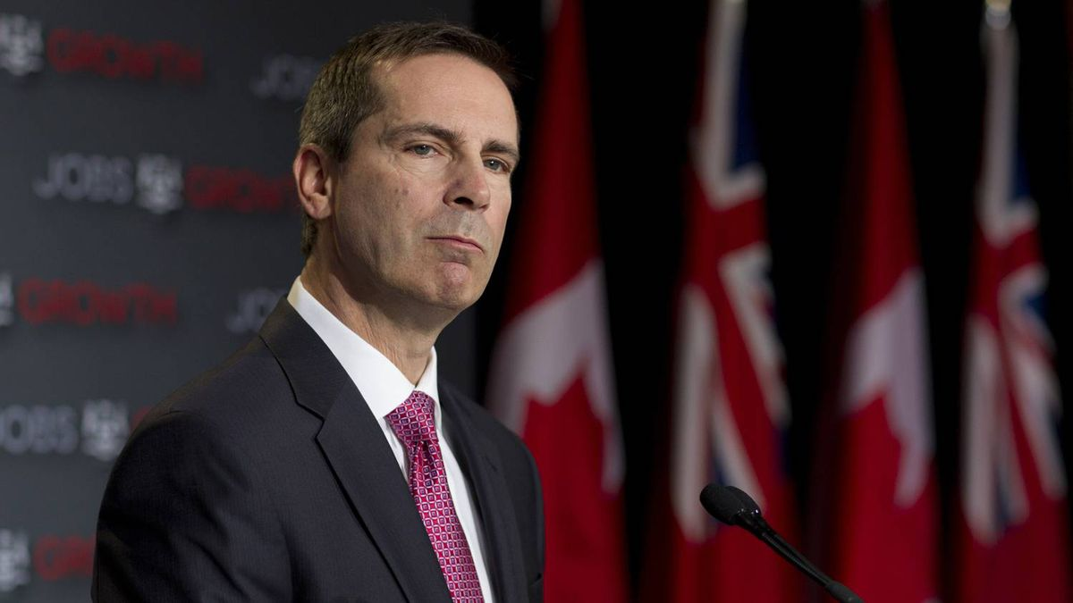 Ontario Premier Dalton McGuinty speaks to the media during a pre-budget press conference on Feb. 21, 2012.