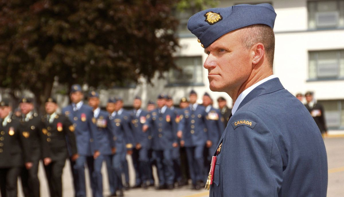 Former Colonel Russell Williams is pictured during transfer of command of 8 Wing/CFB Trenton July 15, 2009. The one-time commander of the Trenton air base was sent to Kingston Penitentiary after four days of shocking testimony in a Belleville, Ont., court where he pleaded guilty to a series of burglaries, sex assaults and the brutal sex slayings of Marie-France Comeau , 37, who served under his command, and Jessica Lloyd, 27. Like Paul Bernardo, the former air force colonel is held in the Lower H segregated range, away from the rest of the prison population.