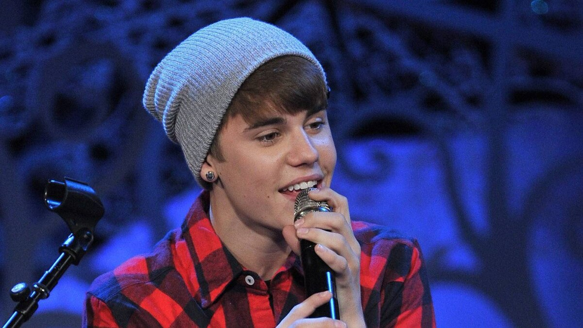 Justin Bieber performs at Massey Hall in Toronto on Wednesday, Dec. 21, 2011.