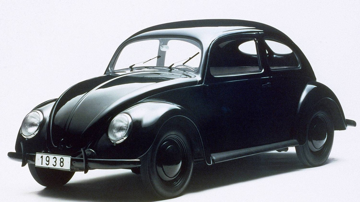 By 1938, designer Ferdinand Porsche had arrived at the shape that would define the Beetle for decades to come.