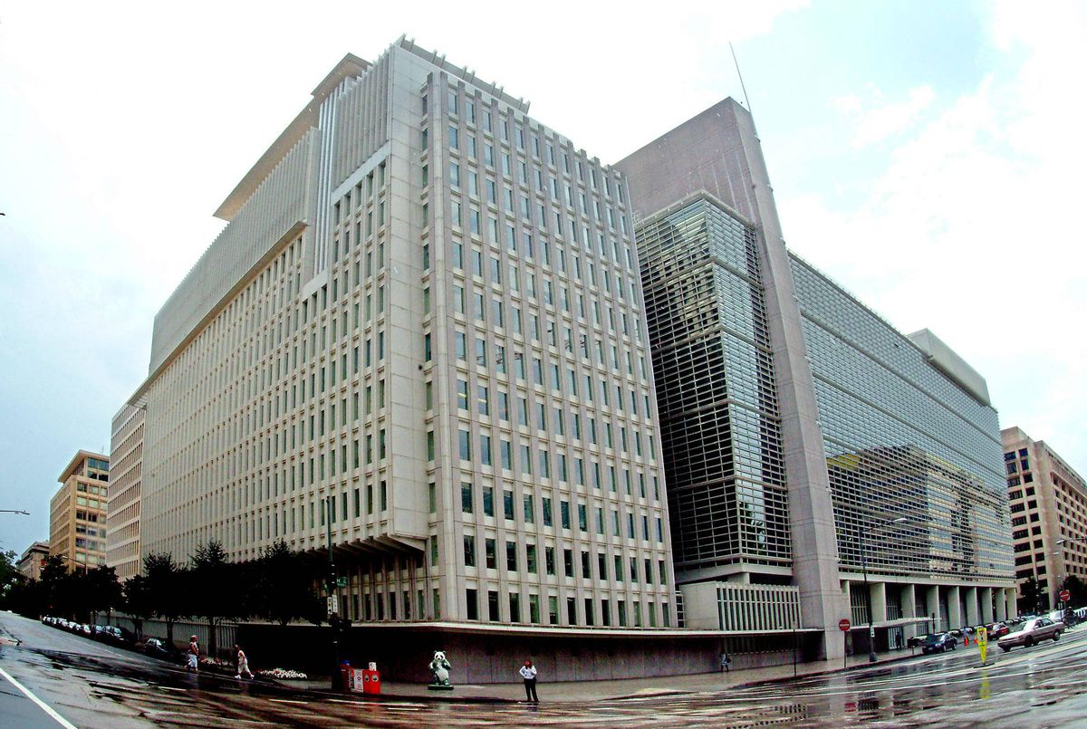 The headquarters of the World Bank in Washington.