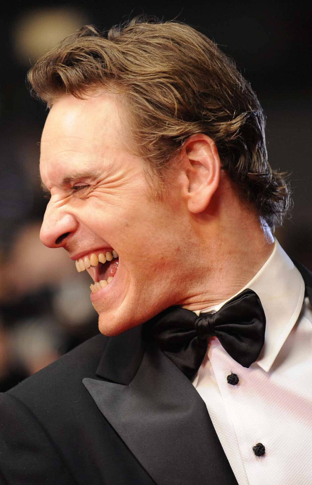 "Irish German-born actor Michael Fassbender stars in ""A Dangerous Method"" and ""Shame."""
