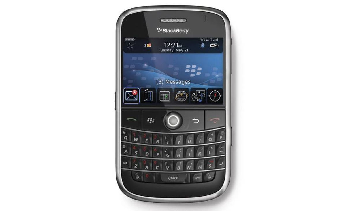 2008 - BlackBerry Bold 9000: The first of the Bold series.