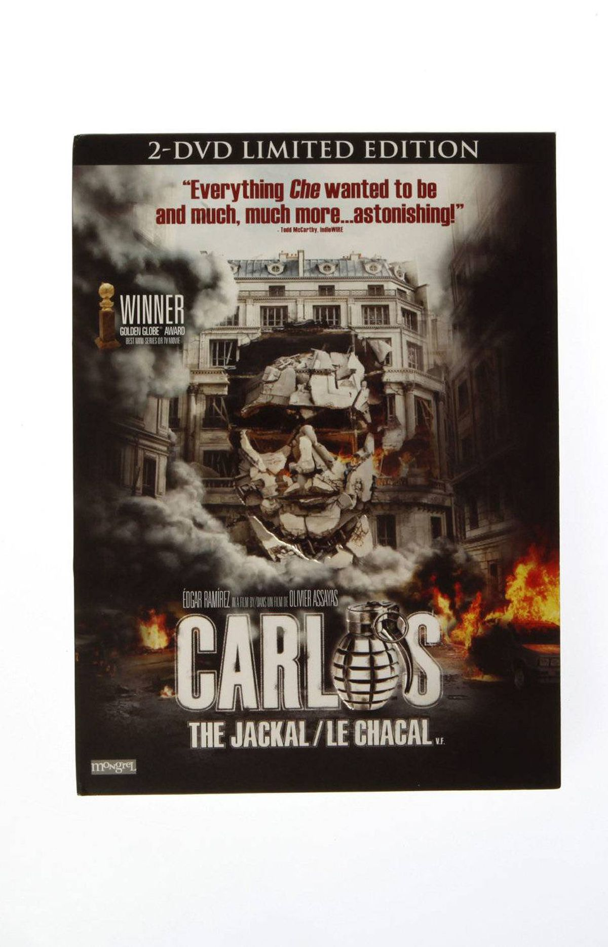Carlos TV miniseries made in Europe by high-profile directors often get released here as feature films, very long films that, in lieu of a season's worth of Breaking Bad, can be put to fine use whiling away a holiday afternoon. Carlos, where Olivier Assayas tracks the notorious Jackal through two decades of terrorist activities, is a superb 330-minute example. $31.99 at amazon.ca